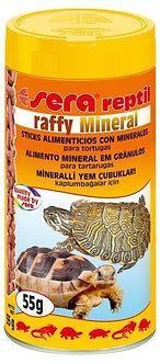Sera Répteis Raffy Mineral - 55g