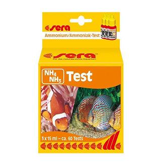 SERA TESTE AMONIA NH4/NH3- 60 TESTES