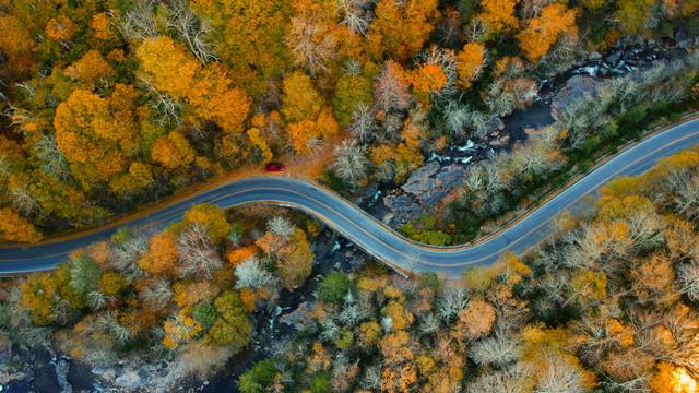 Blue Ridge Parkway Aerial
