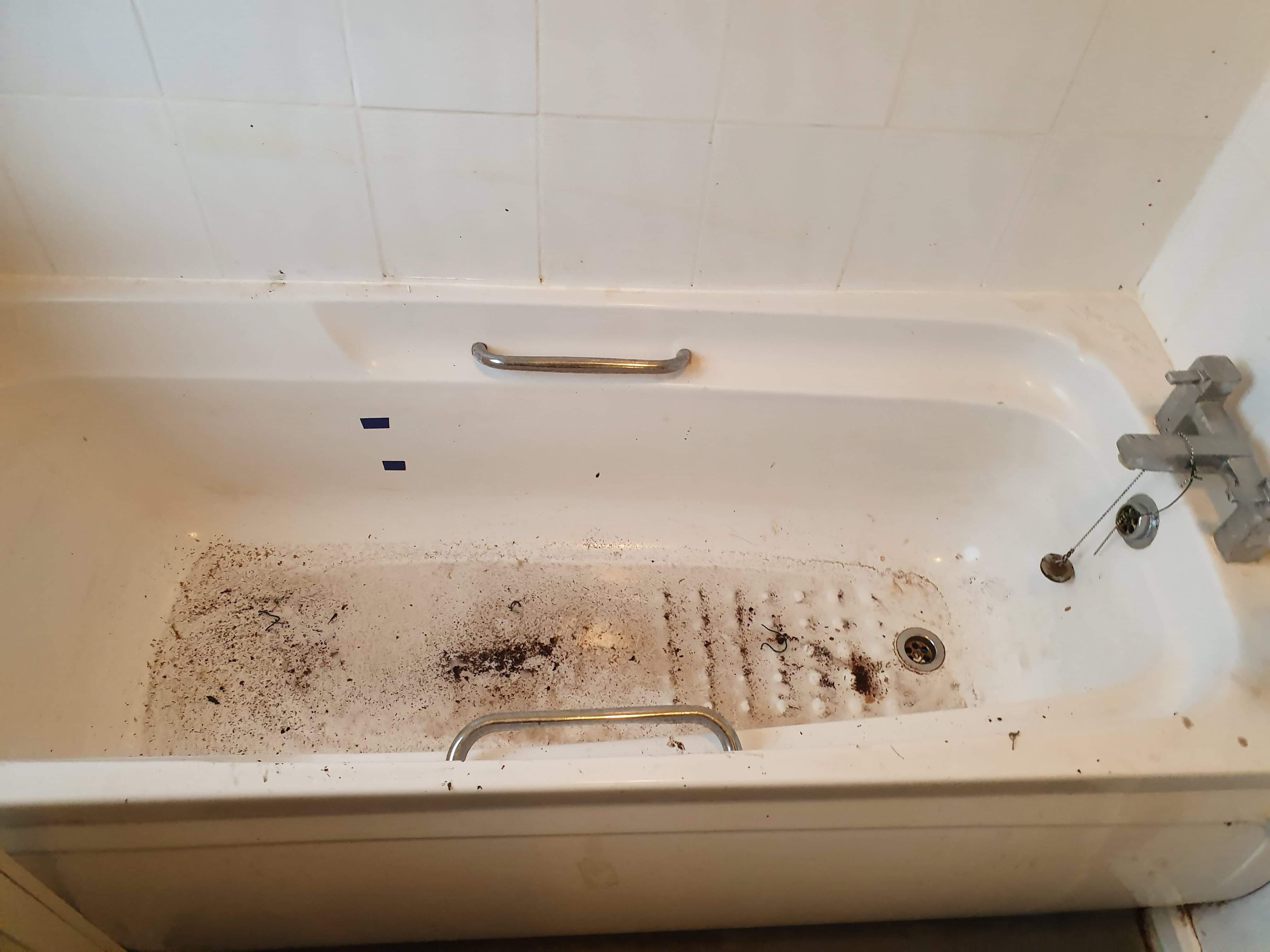 Bath tub before GForce intervention
