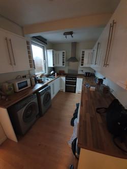 Kitchen area before GForce