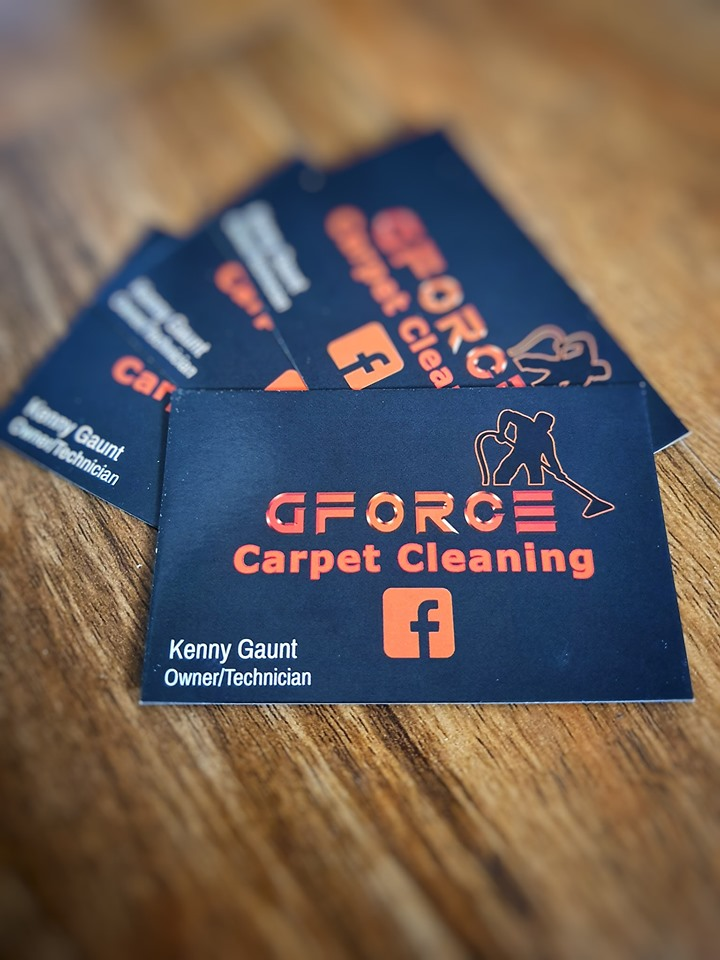 GForce Business Cards