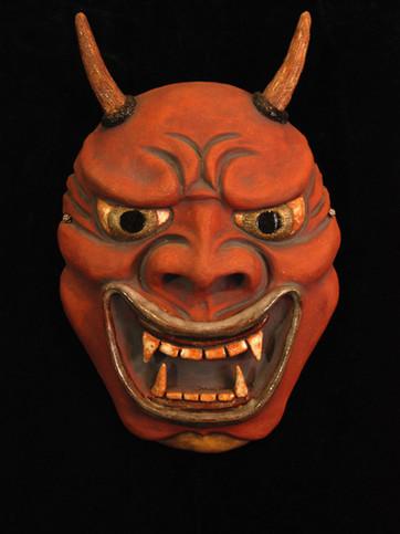 Japanese Noh Demon