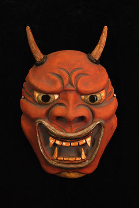 Japanese Noh Demon
