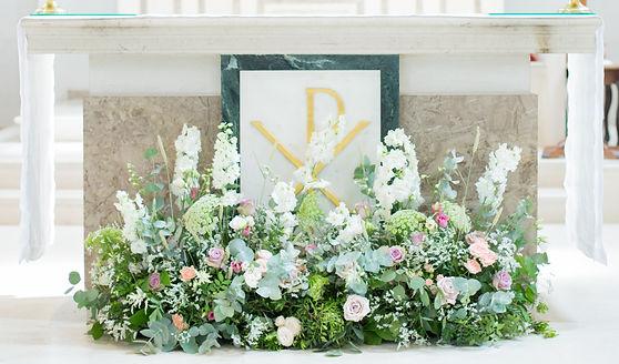 Wild Sapphire wedding flowers