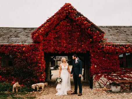 Autumnal Wedding at Huntsmill Farm