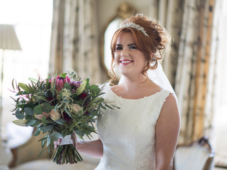 Chicheley Hall Wedding Flowers