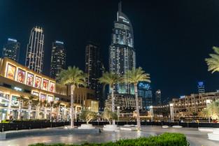Dubai by night © Katharina Sunk