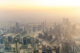 Dubai from above © Katharina Sunk