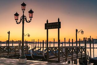 Sunrise in Venice © Katharina Sunk