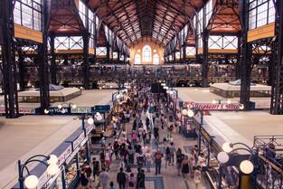 Budapest Central Market Hall © Katharina