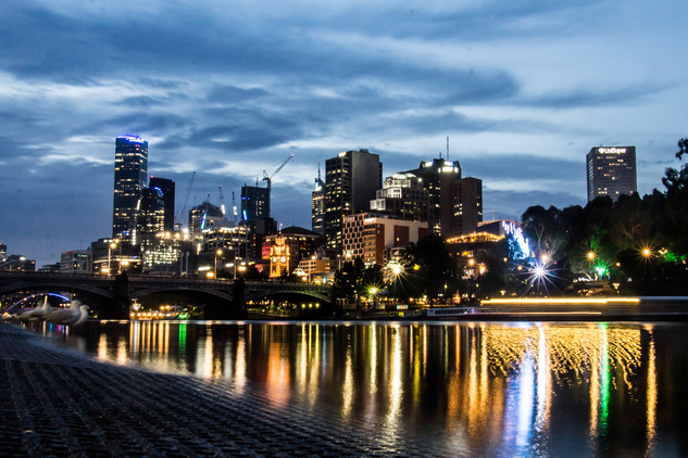 Melbourne by night © Katharina Sunk