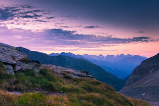 Sunrise in the Alps © Katharina Sunk