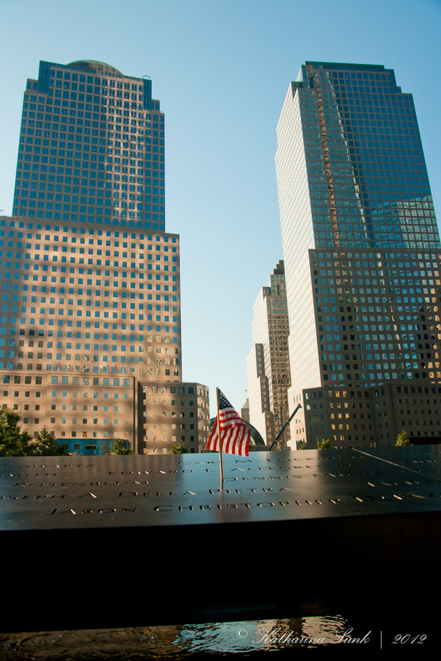 Ground zero Statue of liberty © Katharin