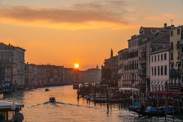 Sunset in Venice © Katharina Sunk