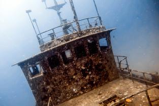 Wreck Dive at Barefoot Manta © Katharina