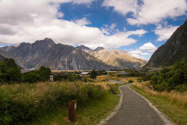 Mount Cook National Park © Katharina Sun