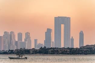 Dubai Skyline © Katharina Sunk