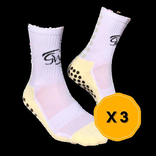 [Multi-Pack] Adult Premium Grip Socks