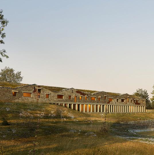 Portal Teissier_Collège_La Cavalerie