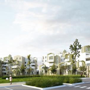 Yellow Architecture_Logements_Saint Jean de Védas