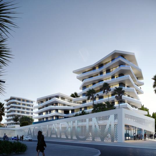 JBM architecture_Logements_Cap d'Agde