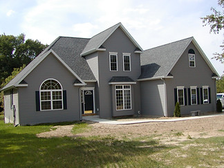 custom home built by cl kruithoff building co.