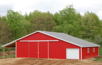 agricultural pole building built by pole-barns.com