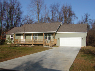 custom home built by pole-barns.com