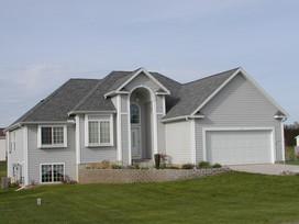 custom home built by cl kruithoff building company