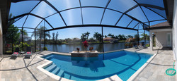 Pool from Villa OASIS