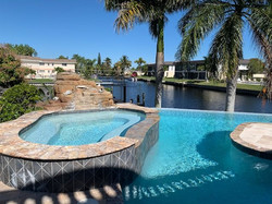 Pool at Villa MI CASA
