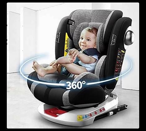 כיסא בטיחות משולב בוסטר מסתובב 360