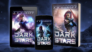 Dark Stars Trilogy - collection website.