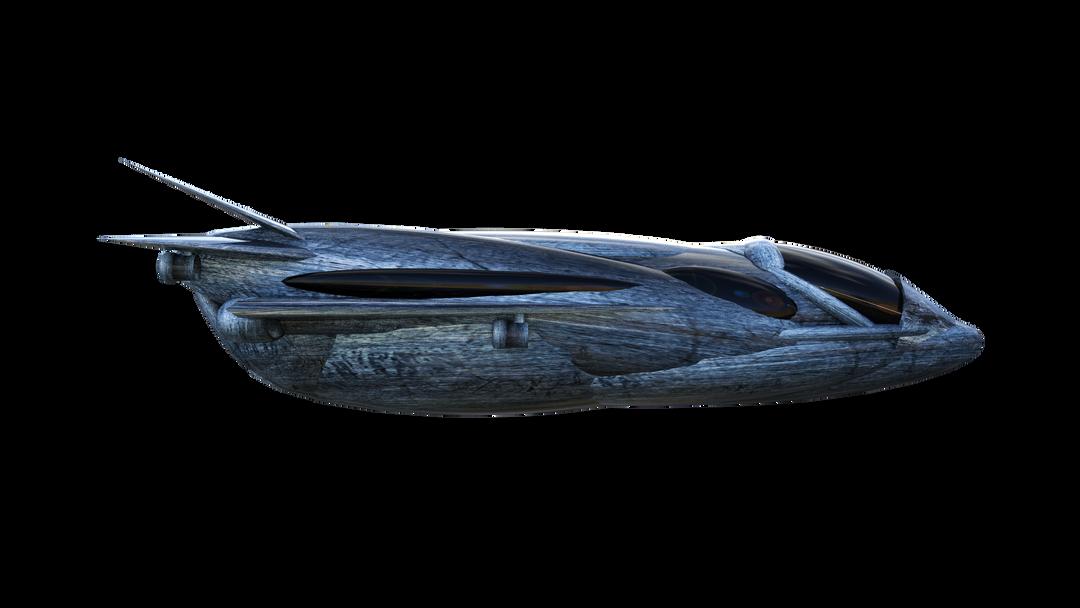 Military Shuttle - side profile