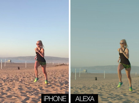iPHONE vs. ALEXA Comparison