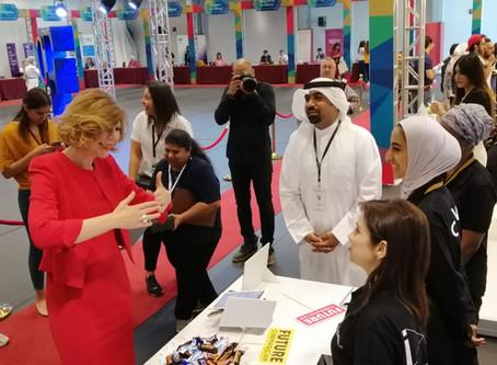 Cinemagic Participates in the 15th Annual AUK Career Fair