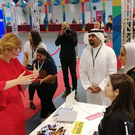 Cinemagic Participates in the 15th Annual AUK Career Fair