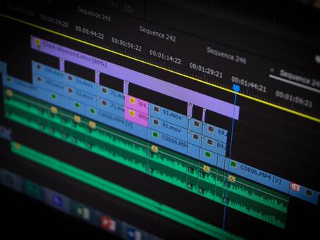 How does good editing go unnoticed?