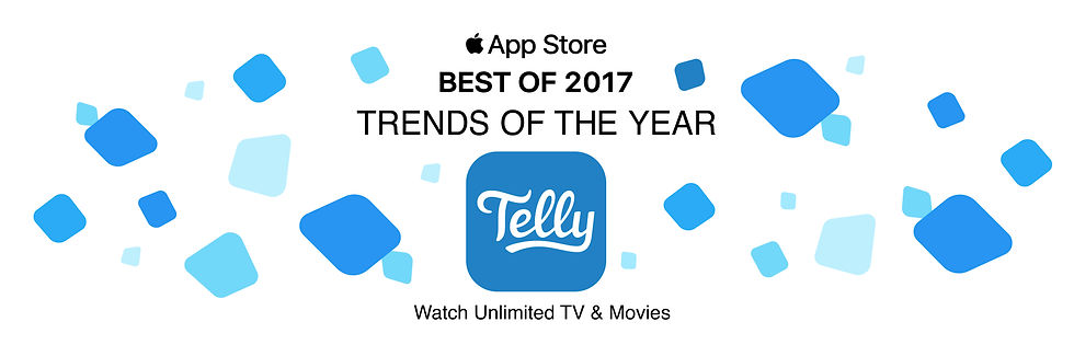 Telly Best app for 2017