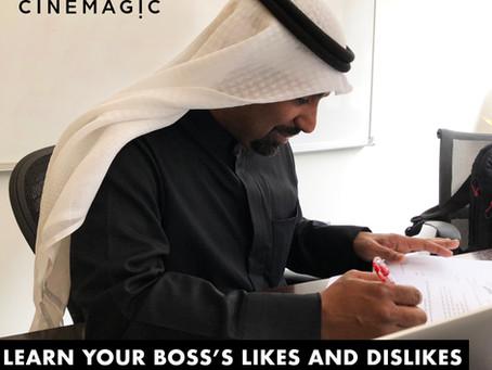 كيف تبهر مديرك في ٧ خطوات