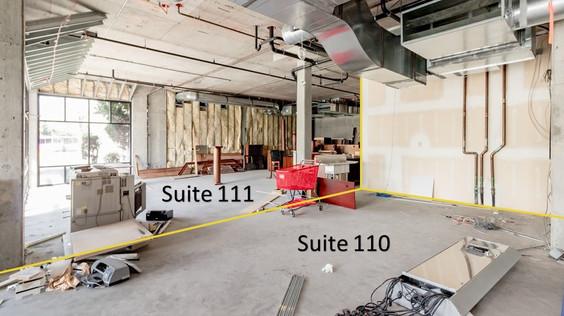 Suite 110 - 111