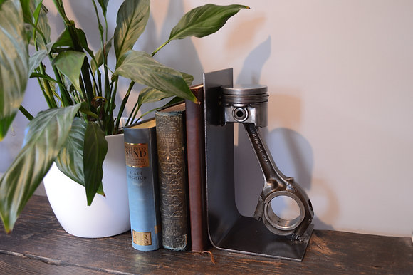 Industrial Engine Con Rod Book Ends