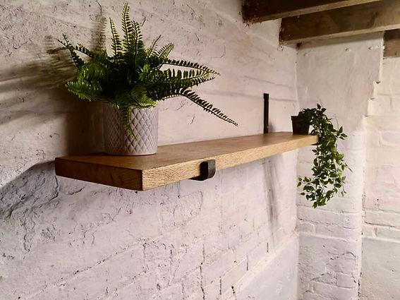 Character Oak Shelves