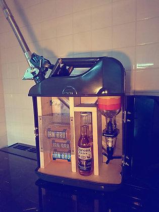 Industrial Petrol Can Mini Bar / Drinks Cabinet