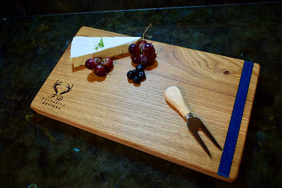 Character Oak Resin Chopping Board