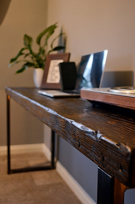 Prima Industrial Reclaimed Wood Desk