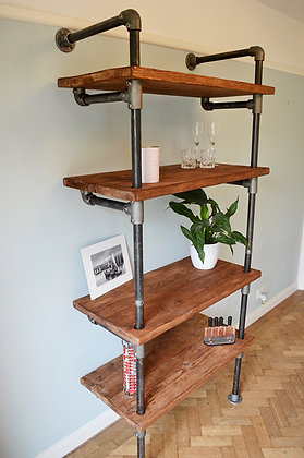Mostra Industrial Pipework Shelving Unit
