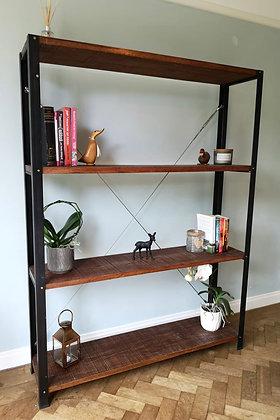 Cavo Industrial Cable Oak Bookcase