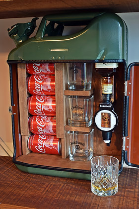 Jerry Can Mini Bar / Drinks Cabinet